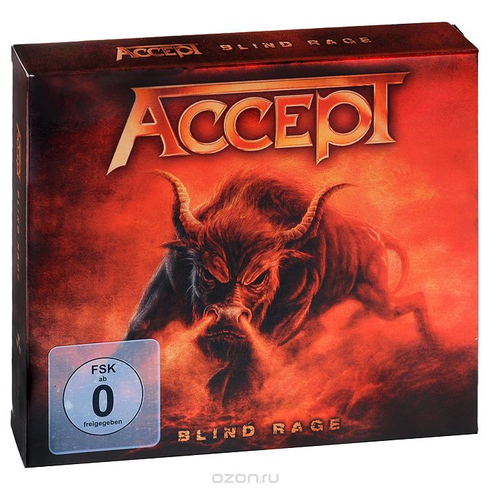 Accept. Blind Rage. Limited Edition (CD + Blu-ray)