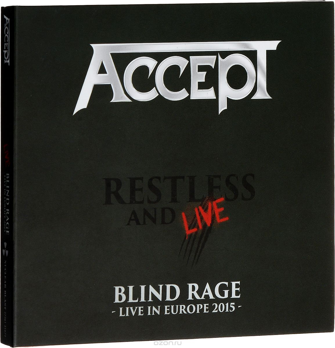 Accept. Restless And Live (2 CD)