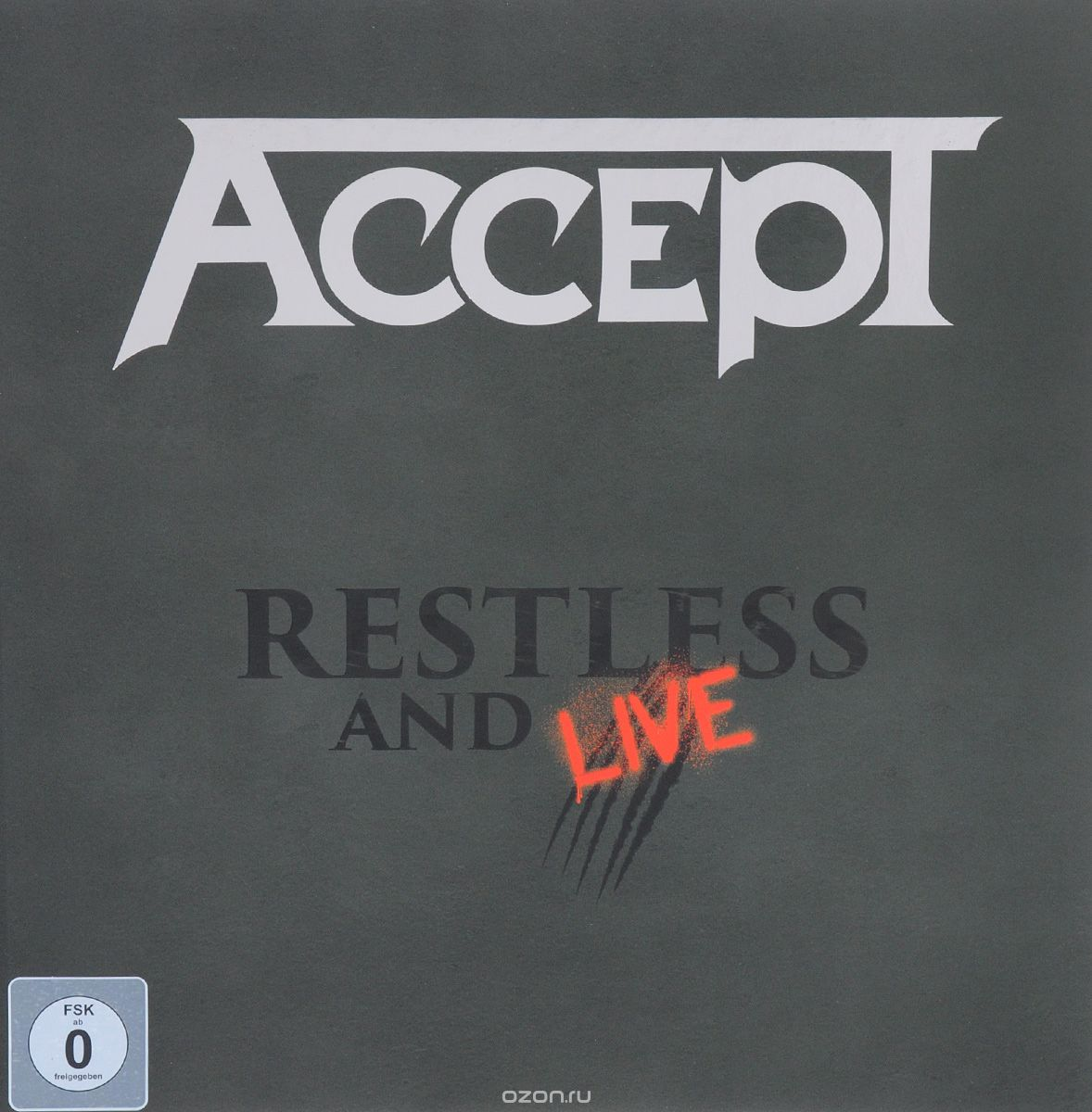 Accept. Restless And Live (2 CD + DVD + Blu-ray)