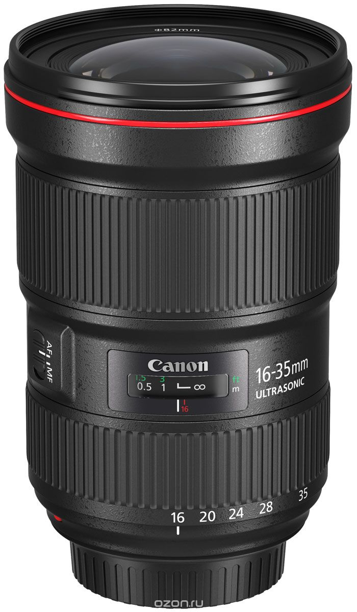 Canon EF 16-35mm 2.8L III USM, Black объектив